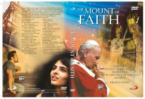 THE MOUNT OF FAITH dvdcover